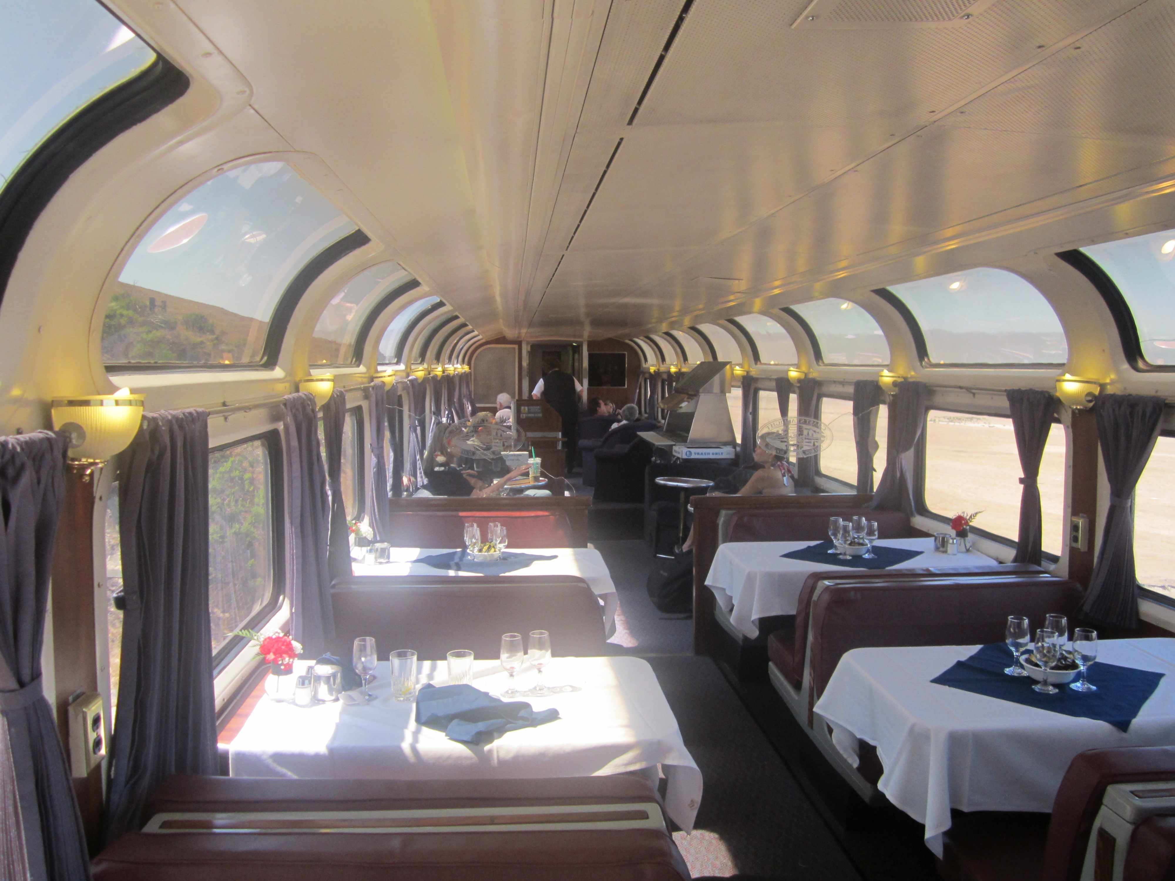 My Mega Trip Report riding Amtrak across US & on to Santiago Chile &
