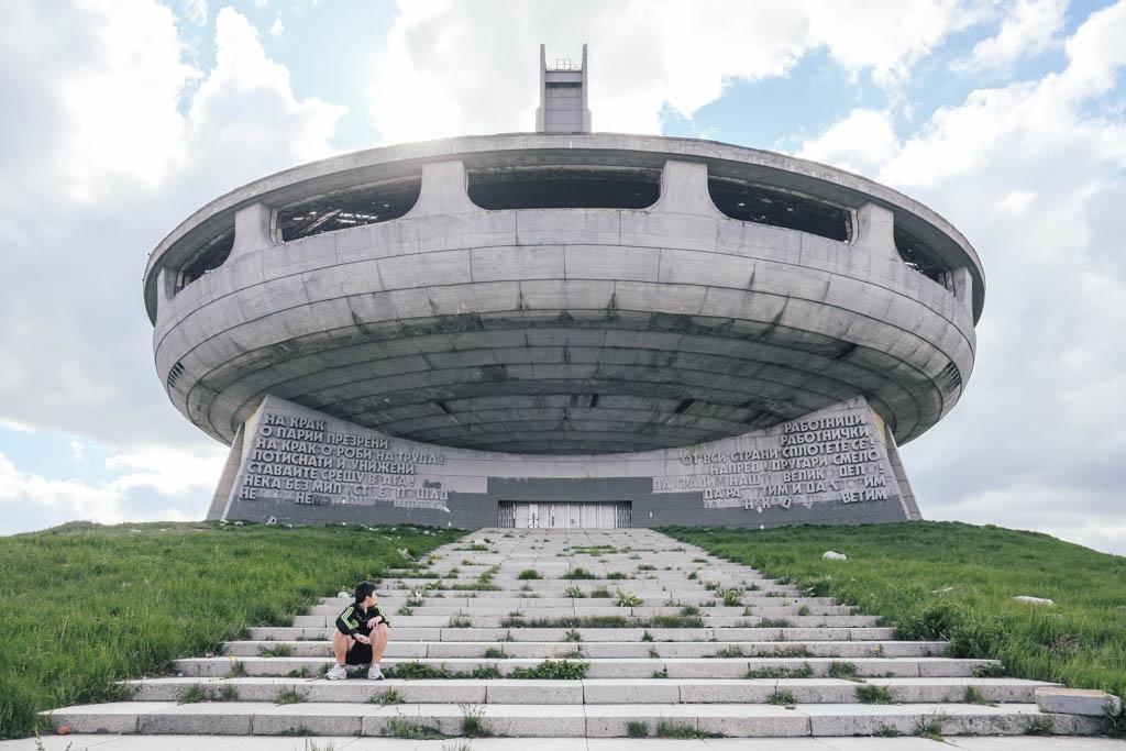 buzludzha-communist-headquarters