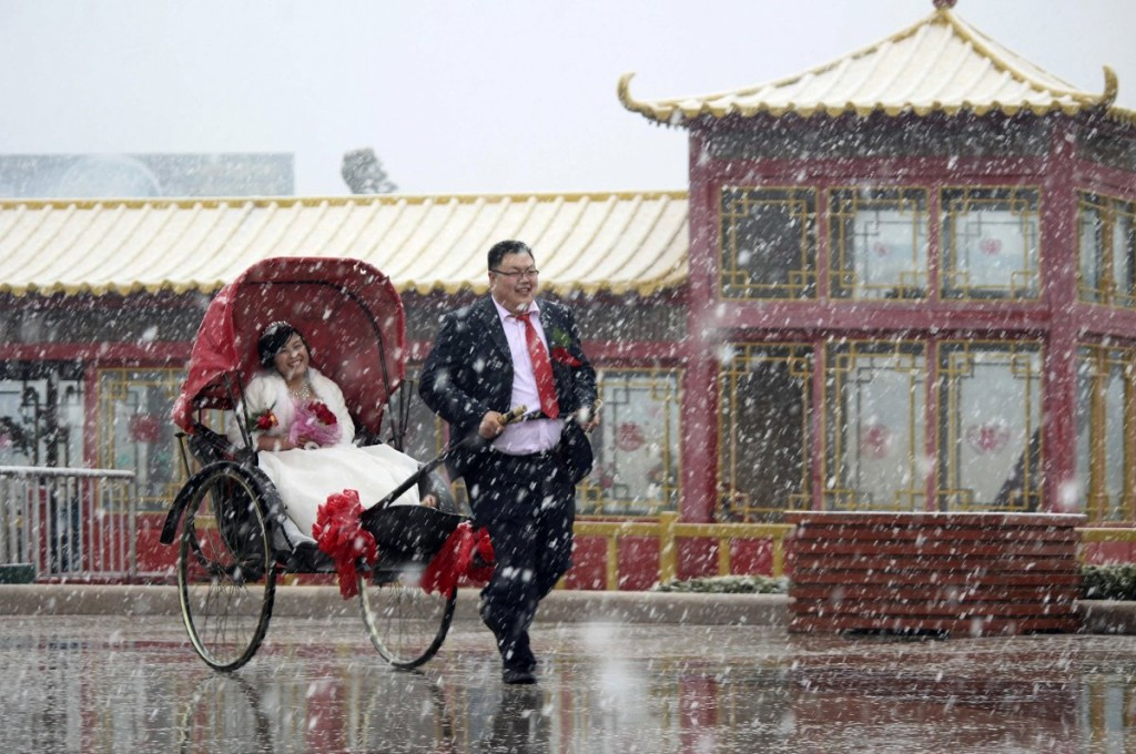 Weihai shandong province china wedding