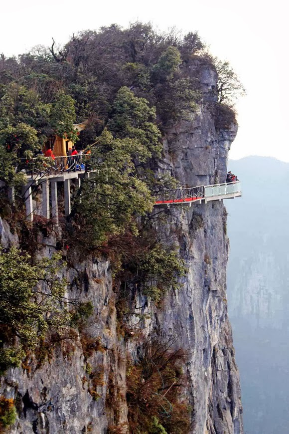 Tianmen Mountain, China Cliff Path