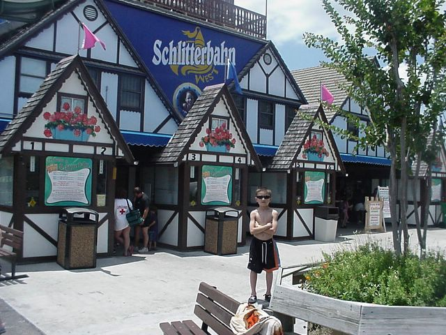 Schlitterbahn Water Park in Kansas City