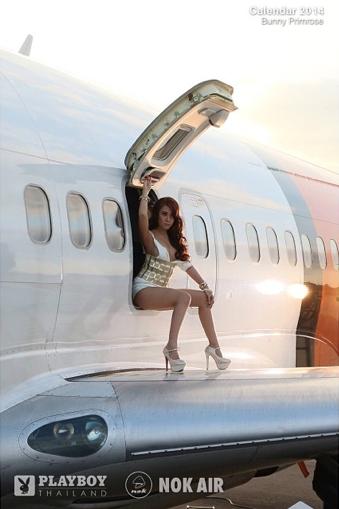 Nok Air Thailand Flight Attendants Playboy Bunnies 2014 Calendar