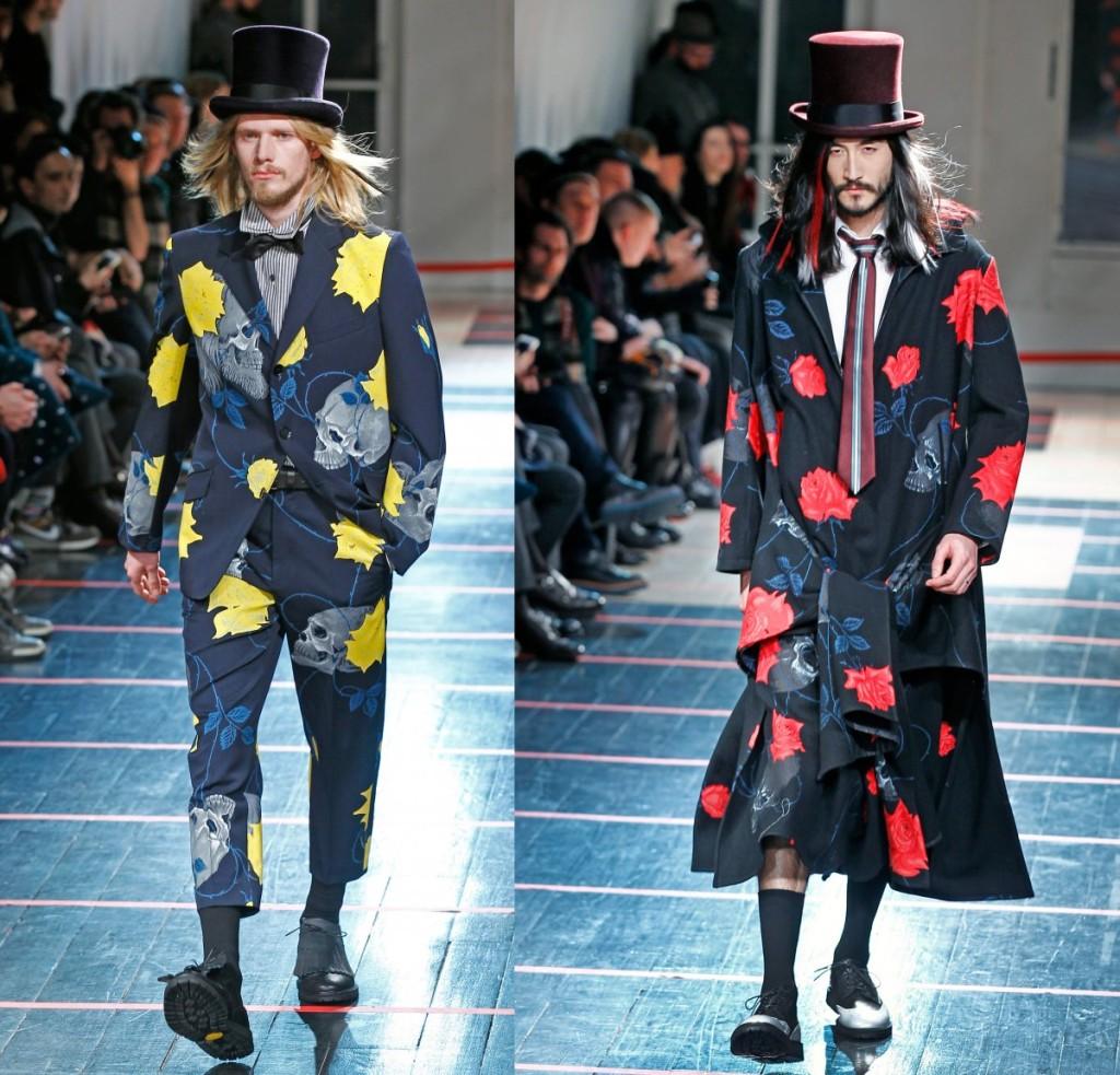 top hats mens fashion Yamamoto