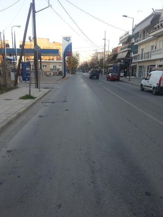 Larisa Greece Karditis street
