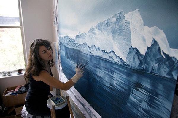 Iceberg Zaria Forman