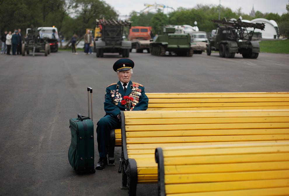 World War II veteran from Belarus Konstantin Pronin