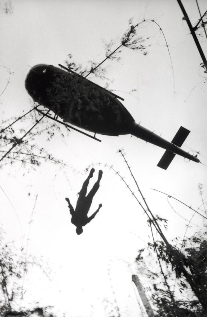 Vietnam paratrooper dead jungle