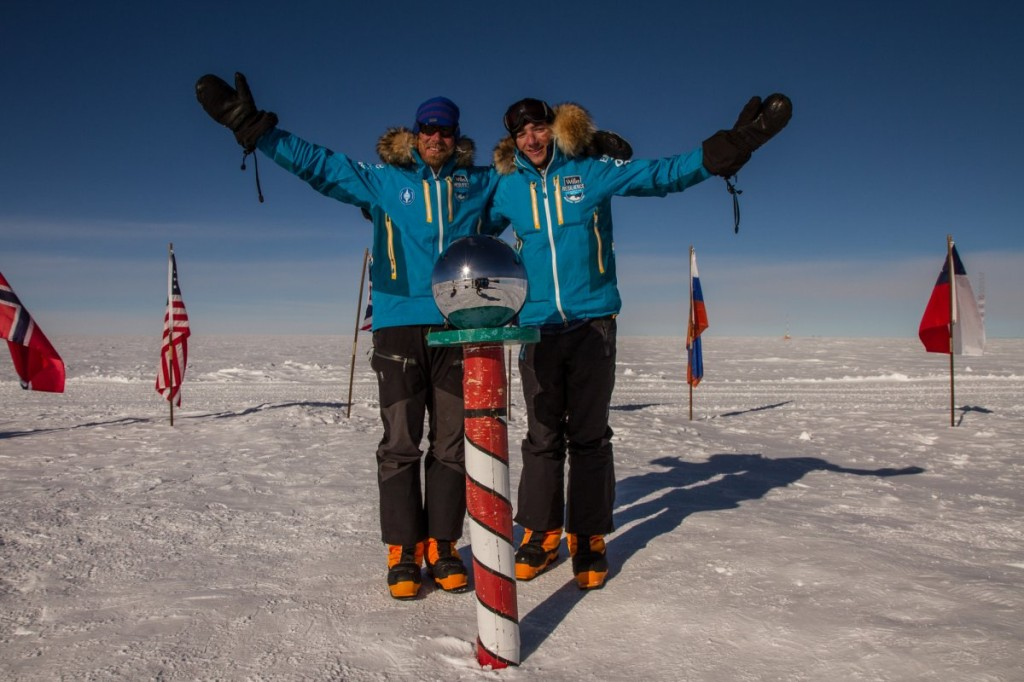 Parker Liautaud record ski trip to South Pole