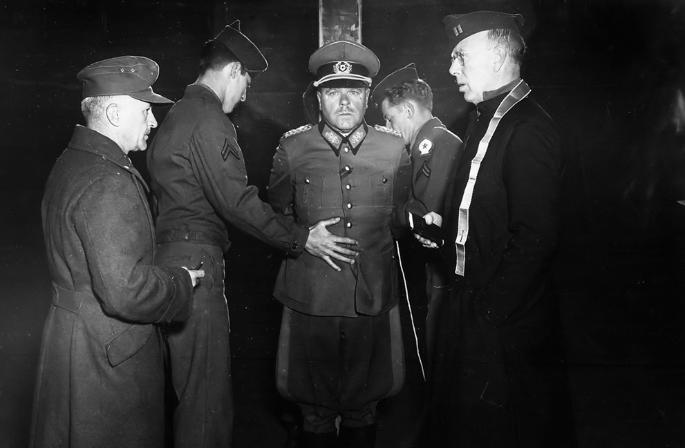 German Wehrmacht General Anton Dostler execution