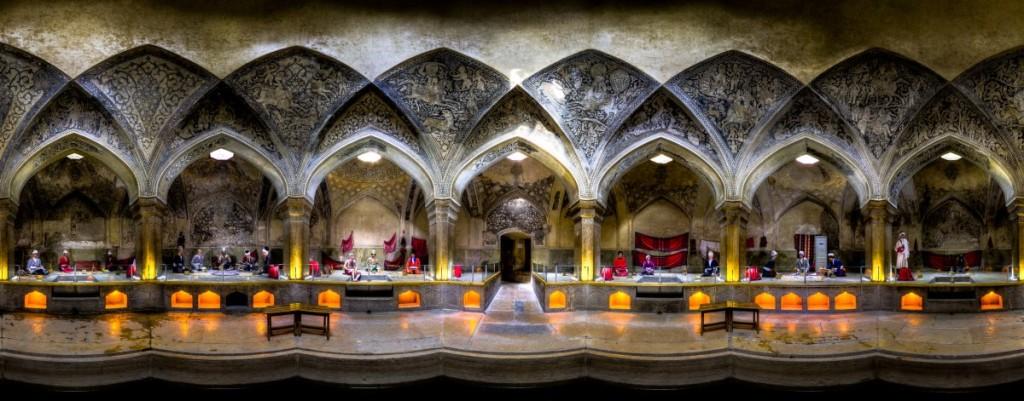 Vakil Bath in Shiraz, Iran