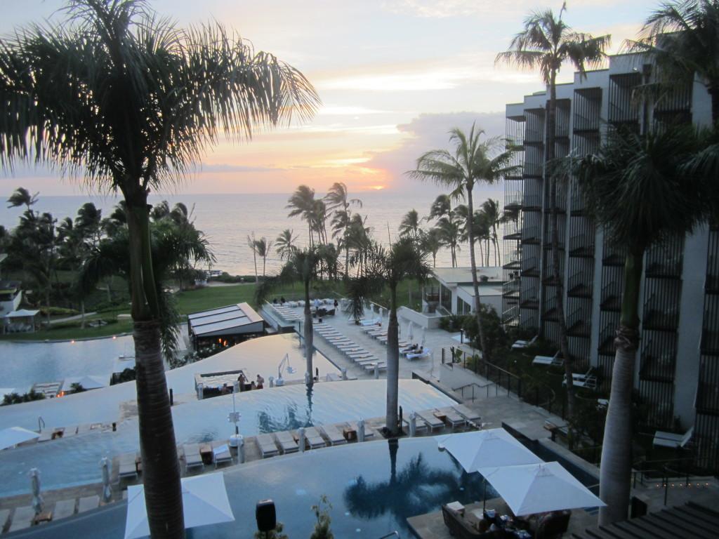 Maui Andaz sunset