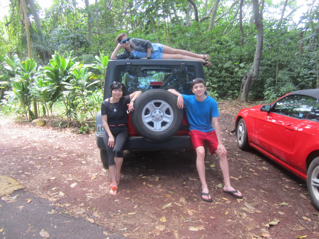 Family Memories Maui Jeep Wrangler