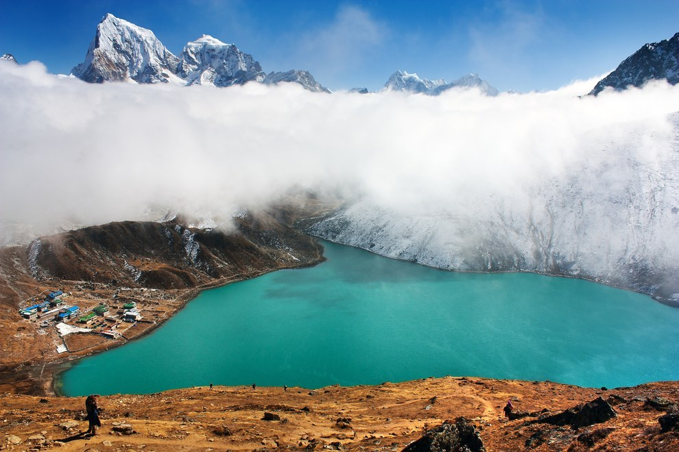 Nepal lakes glacial origin beautiful