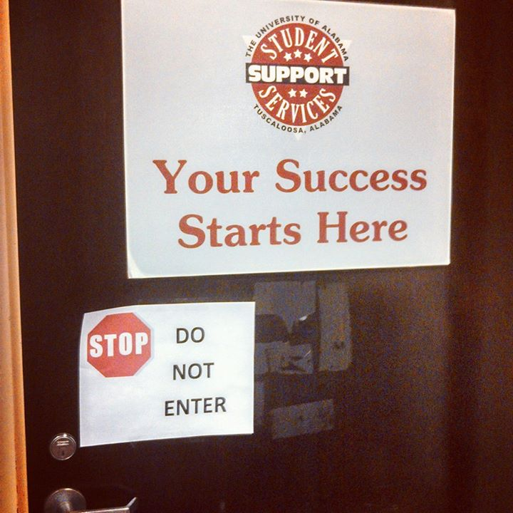 success start here sign students credibility fail
