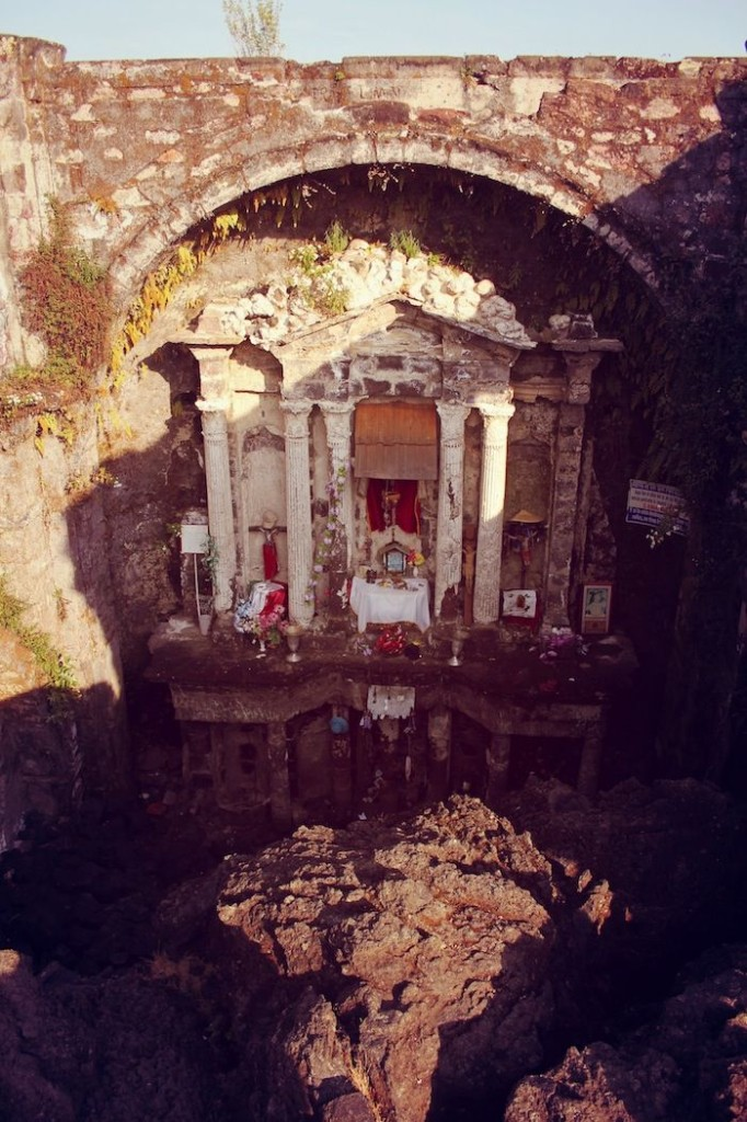 Incredible story & site. Photo by Paul Dornau Mexico church
