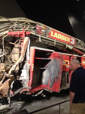 new york city fire truck terrorism 911 osama bin laden museum photos
