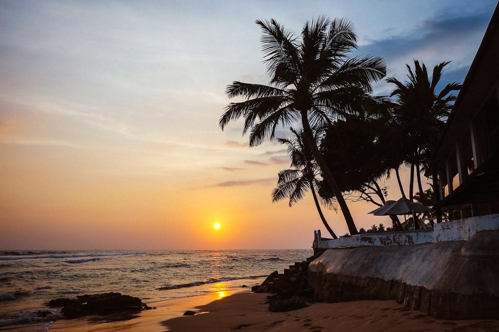 Thalpe Beach, Sri Lanka