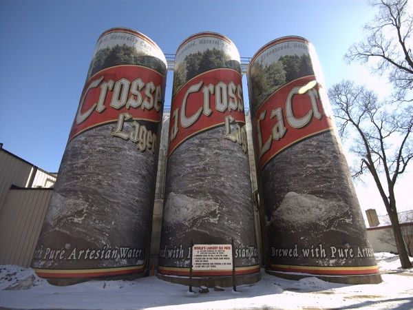 World's Largest Six Pack in La Crosse, Wisconsin