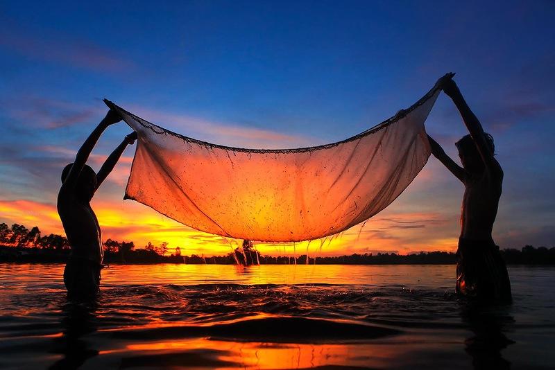 thailand beautiful sunset