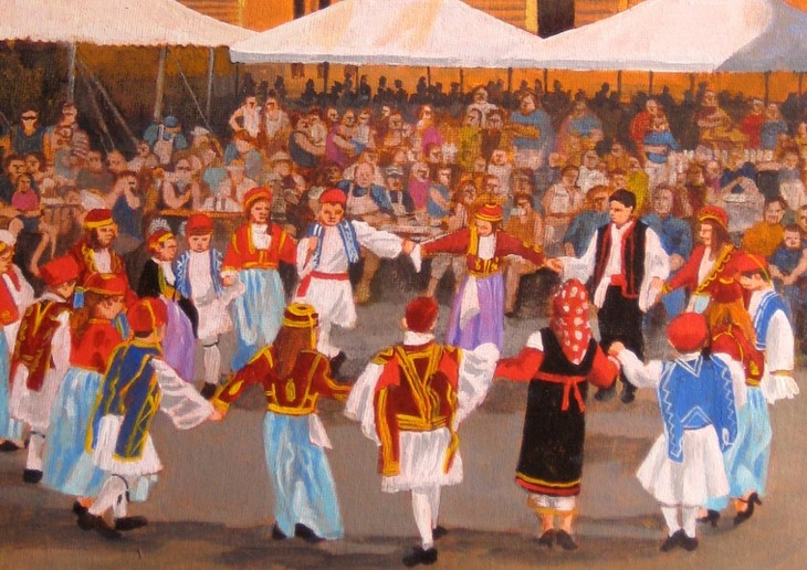 Ann Arbor Ya'ssoo Greek Festival June 6,7,8