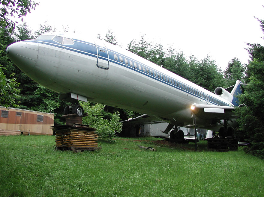boeing 727 woods house retirement