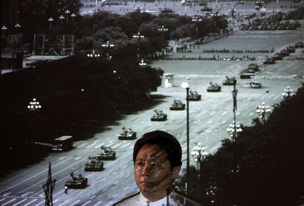Tiananmen square freedom tank man