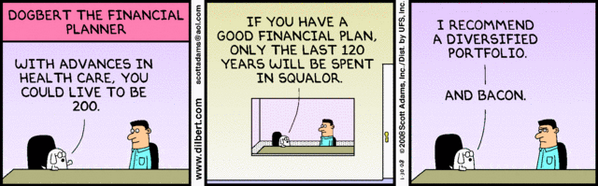 Dogbert the Financial Planner