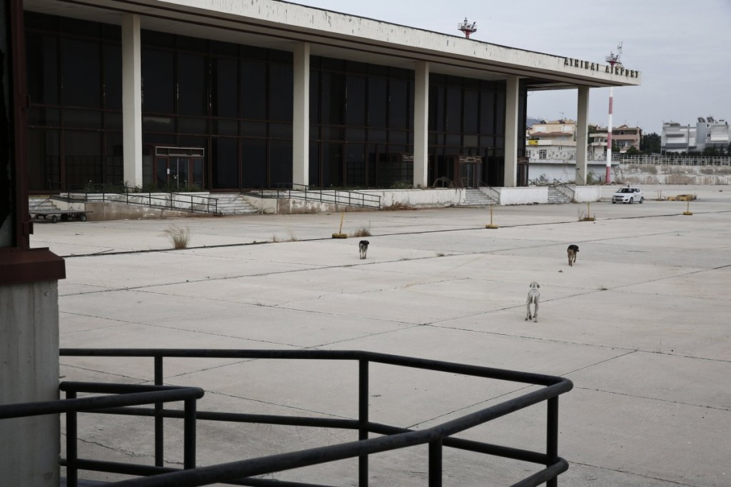 athens interantional airport abandoned