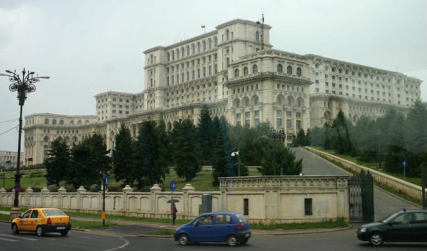 Palace Parliament Bucharest, Romania