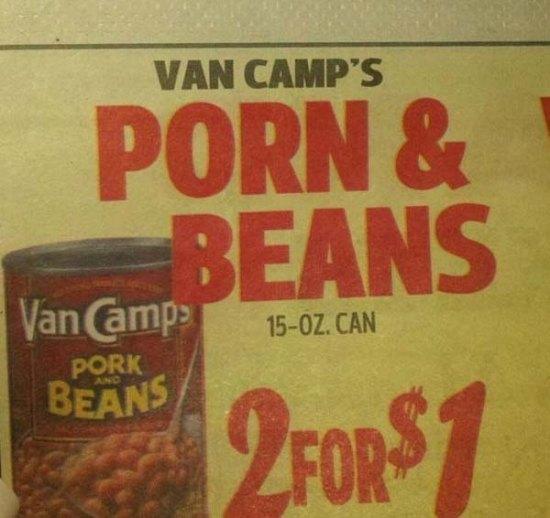 porn and beans sale killing deal deals