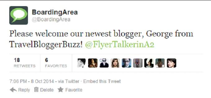 boarding area travel blogger buzz tbb