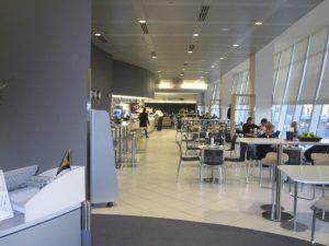 lufthansa senator lounge NYC airport