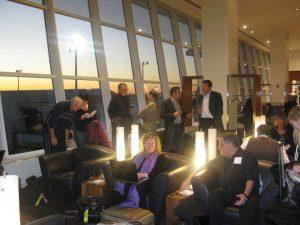 lounge lufthansa senator first class business New York City JFK airport