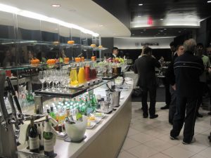 food reception lounge senator nyc jfk airport