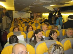 lufthansa economy coach airplane seats