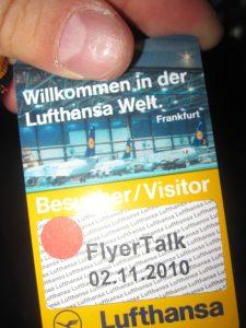 lufthansa flyertalk frankfurt airport