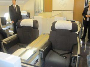 seats business first class lufthansa