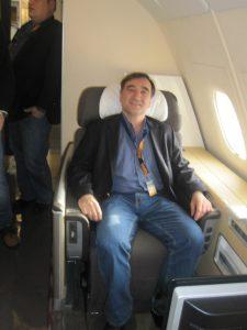 business class seat lufthansa