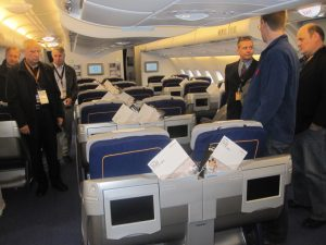 airplane lufthansa seats tour