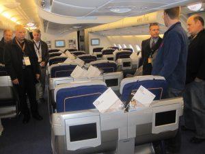 airplane lufthansa seats tour