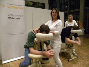 lufthansa headquarters massage free