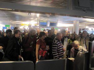 frankfurt lufthansa boarding process