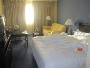 hotel bed crash houston