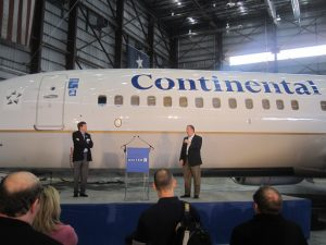 united continental merger airplanes