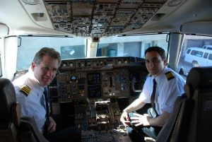 continental airline flying pilots