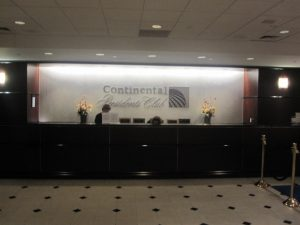 conttinental presidents club lounge