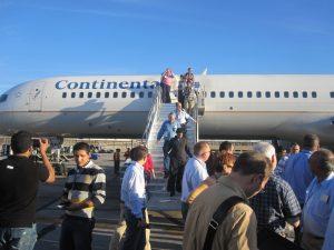phoenix continental flight charter