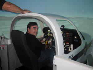 flight simulator pilot training
