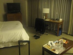 Got upgraded to a really nice suite I remember at the Seattle Westin