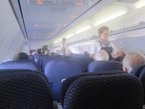 continental flight